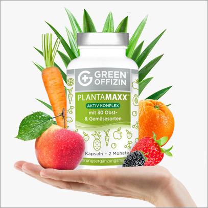 Plantamaxx - veganes Apothekenkonzept